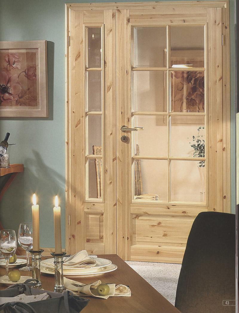 kiefert r mit glaseinsatz. Black Bedroom Furniture Sets. Home Design Ideas